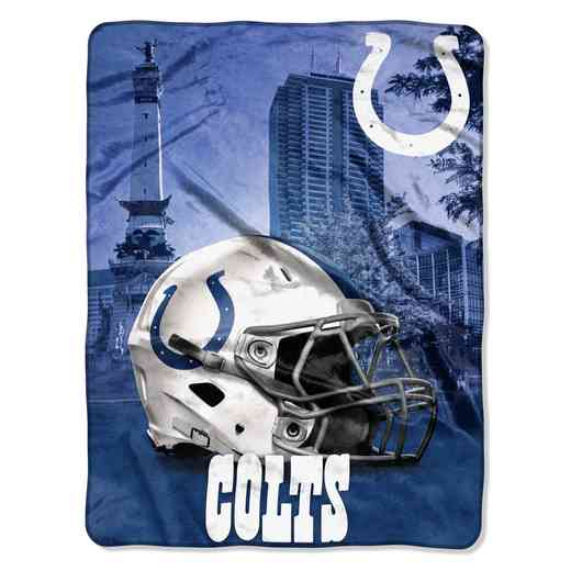1NFL071030008RET: NW NFL HERITAGE SILK THROW, COLTS